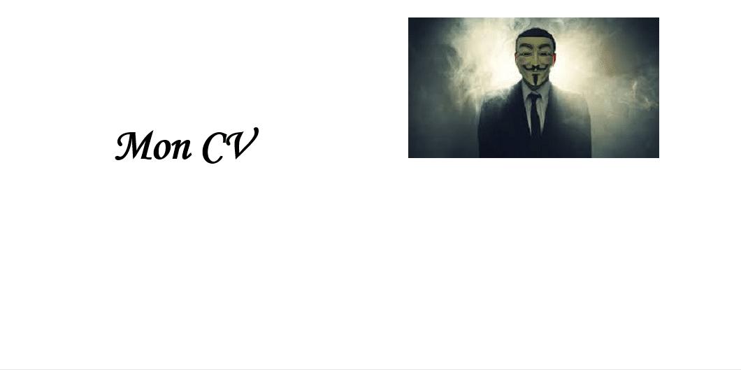 pour ou contre le cv anonyme   car votre cv sera toujours votre atout diff u00e9rentiel